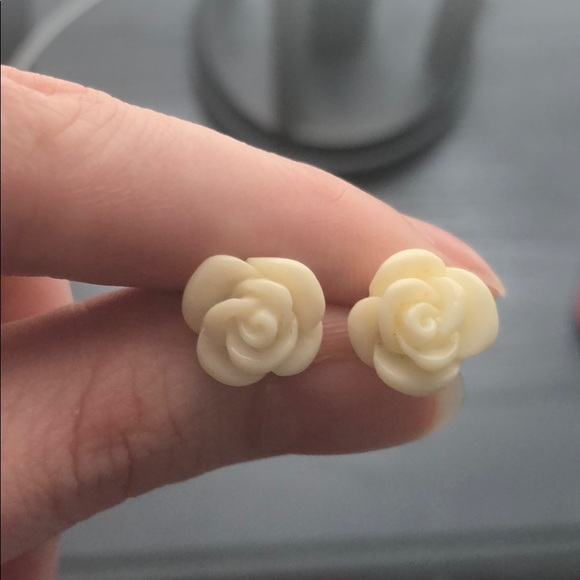 Small Floral Stud Earrings